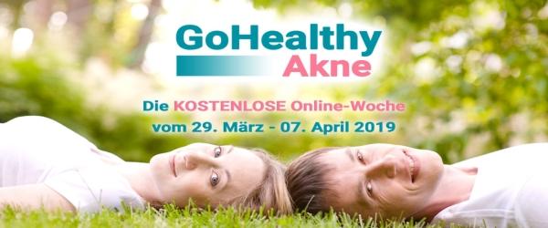 """Endlich Akne nachhaltig loswerden? Probier das KOSTENLOSE """"GoHealthy Akne 2019"""" Livestream-Event aus!"""